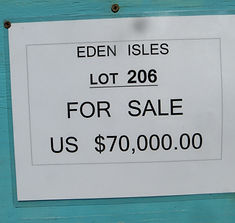 Land for sale - Lot 206 - Eden Isle on C