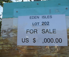 land for sale - lot 202 - Eden Isle on C