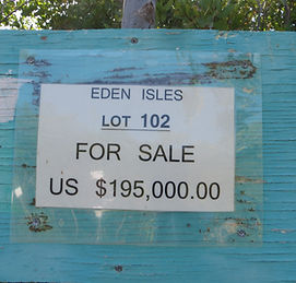 Land for sale - Lot 102 - Eden Isle on C