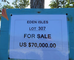 Land for sale - Lot 307 - Eden isle on C