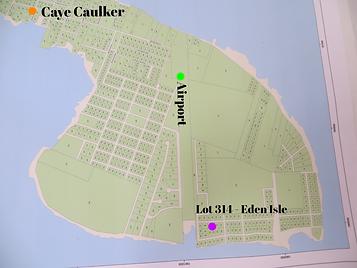 Lot 314 for sale Caye Caulker Belize