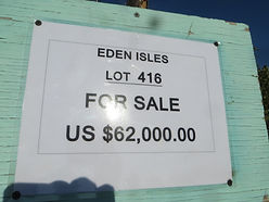 Land for sale - Lot 416 - Eden Isle on C