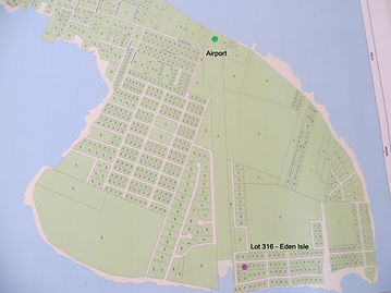Land for sale 316 - Eden Isle map - Caye