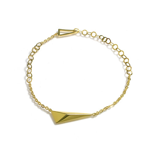 Shooting Star Bracelet in Gold