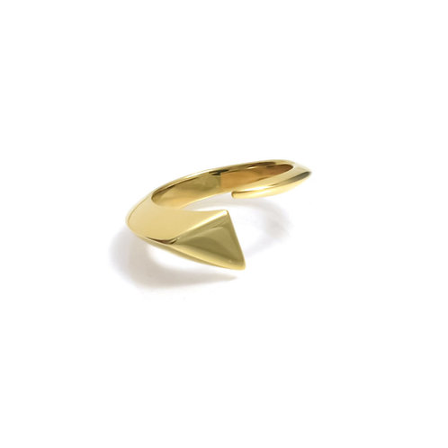Shooting Star Ring in Gold