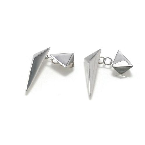 Stardust Cufflinks in Silver