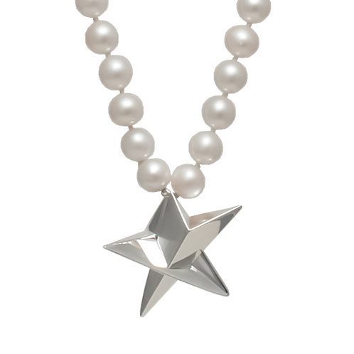 Big Star Pearl Necklace