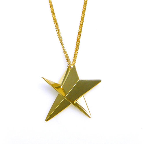 Small Star Necklace in 18K Gold Vermeil