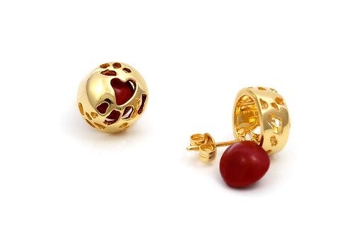 Love Seed Earrings Gold