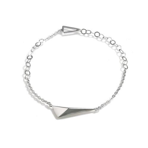 Shooting star Bracelet in Silver