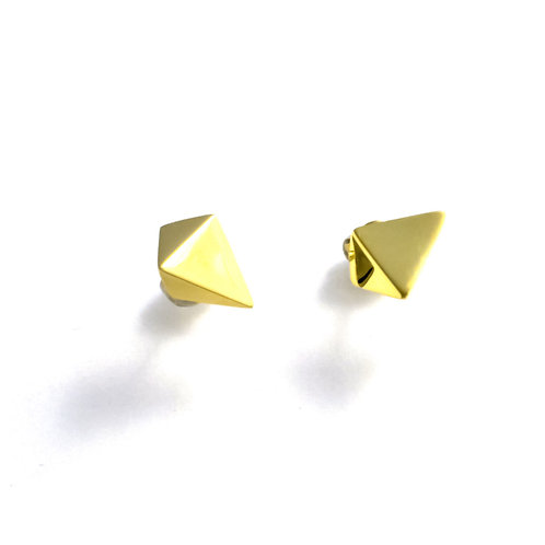 Stardust Studs In Gold