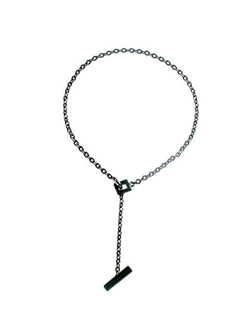T-Bar Bracelet in Black