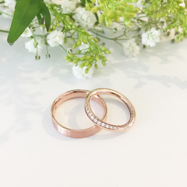 Swirly Eternity Ring