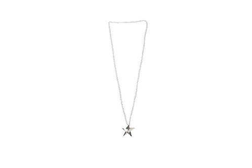 Small Star Pearl Necklace