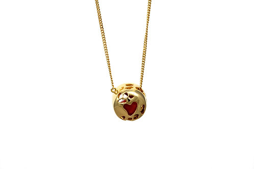 Love Seed Necklace Gold