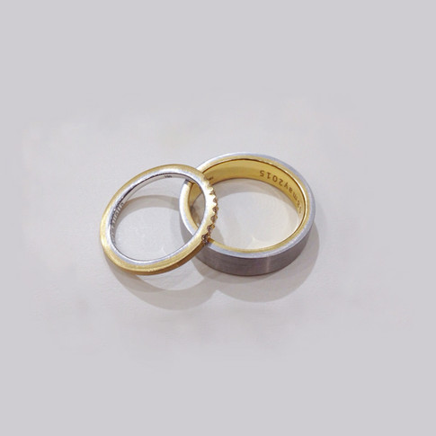 Two-tone Rings