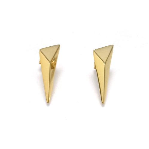 Shooting Star Earrings in Gold