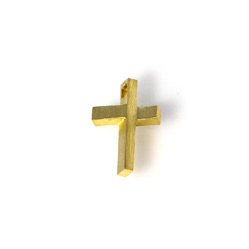 Gold Cross Charm