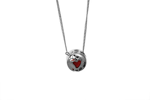 Love Seed Necklace Silver