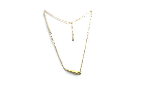 Shooting Star Necklace in Gold