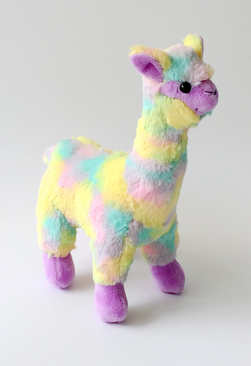 Kaleidoscope Plush Alpaca $6.75