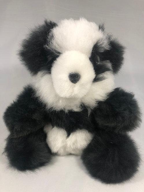 """9""""Lg Alpaca Panda Bear"""