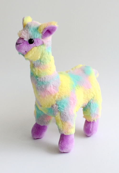 Kaleidoscope Plush Alpaca