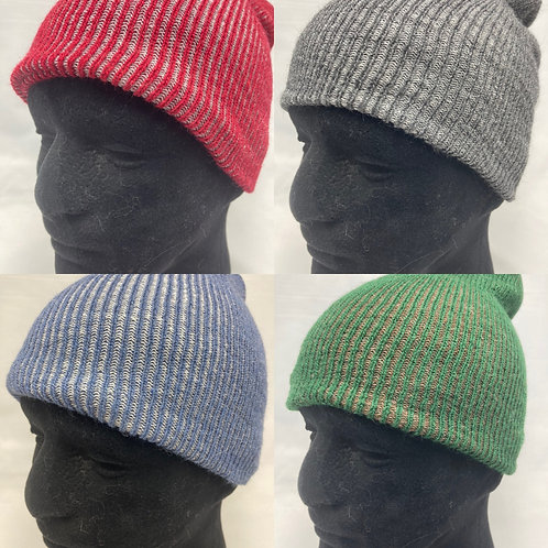 Stretchy Knit Alpaca Hats