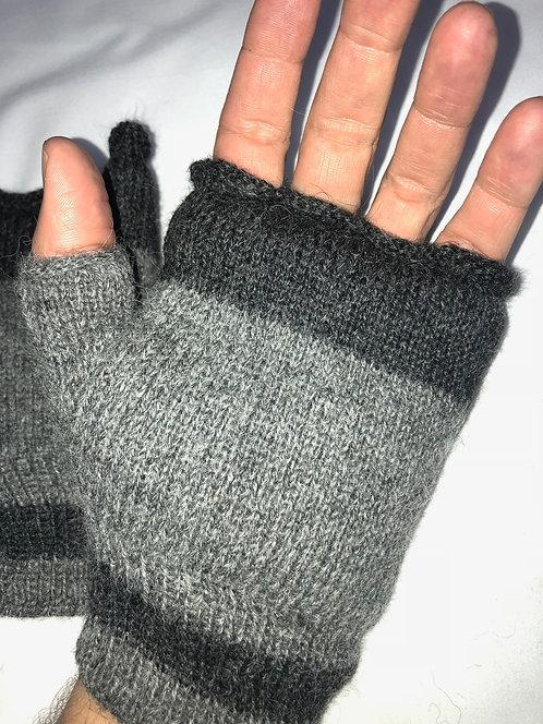 Fingerless Insulated Lined Gloves