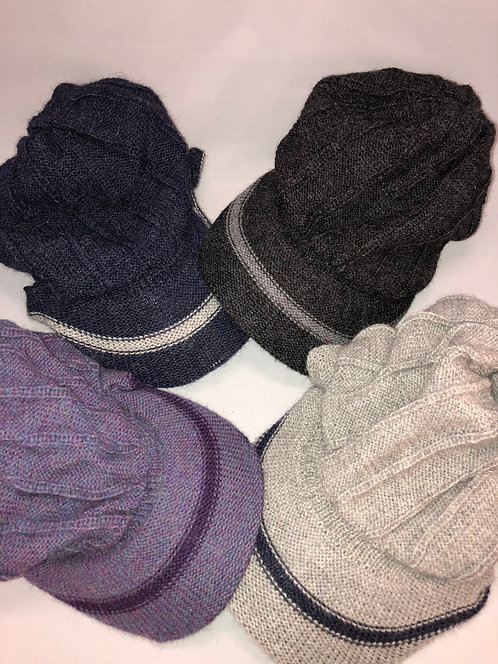 Insulated Alpaca Baseball Caps