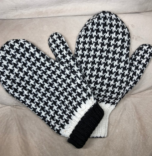 Double Knit Reversible Mittens