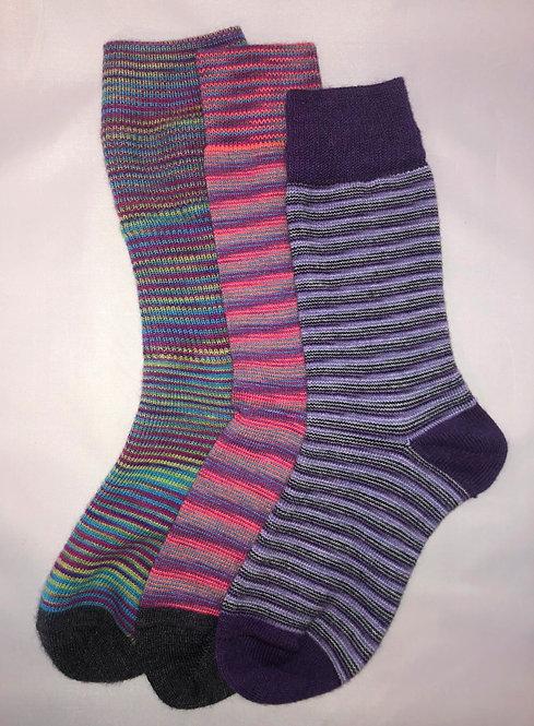 Multi-Colored Dress Socks $8.50/pr Min-3