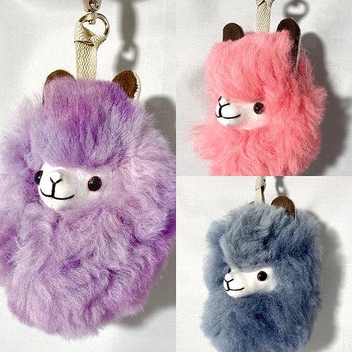 Alpaca Head Key Chains