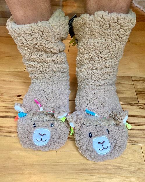 Alpaca Lounge Slippers