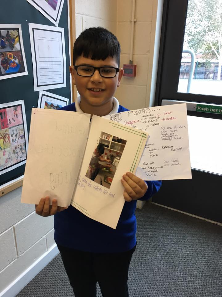 Well done Zakaria for the amazing work he did on World War ll