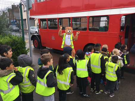 Year 1 trip to the British Transport Museum