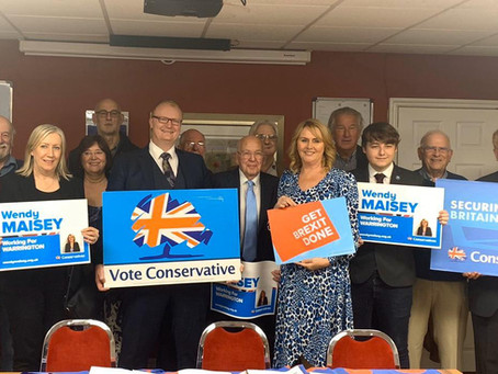 Wendy Selected as Conservative Prospective Parliamentary  Candidate For Warrington North