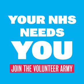 I've joined up for the NHS volunteer army  have you ?