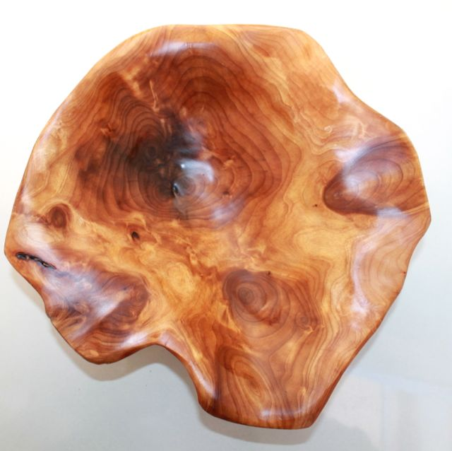 Handmade Cedar Wood Bowl
