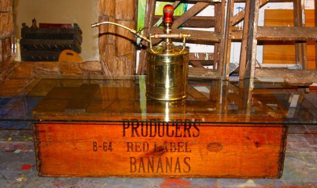 Vintage Banana Crate