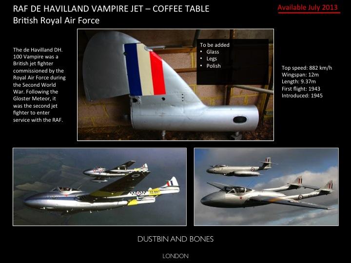 De Havilland Tail fin