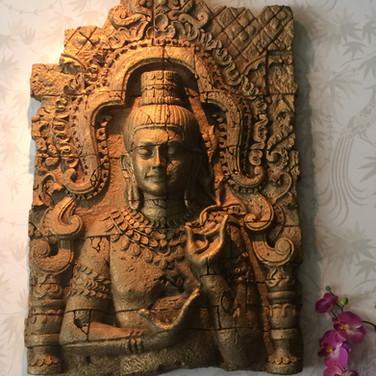 Restaurang Gold Dragon dekoration