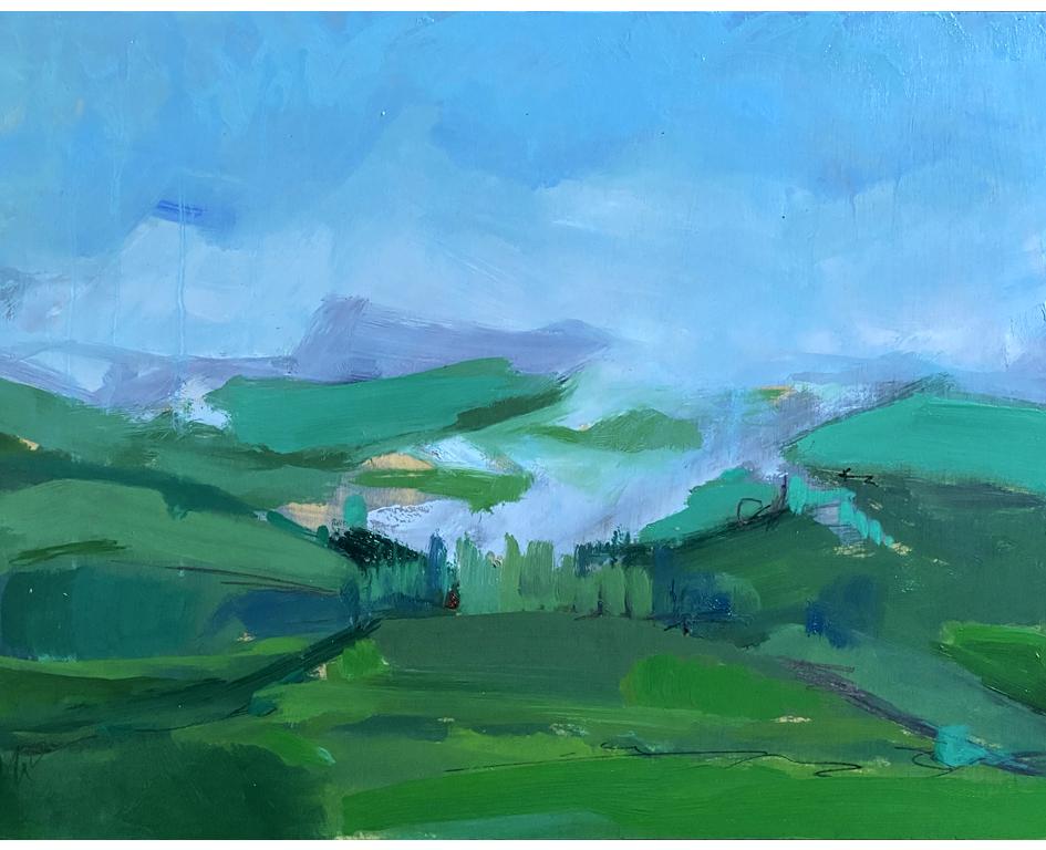 Morning clouds in Kangaroo Valley
