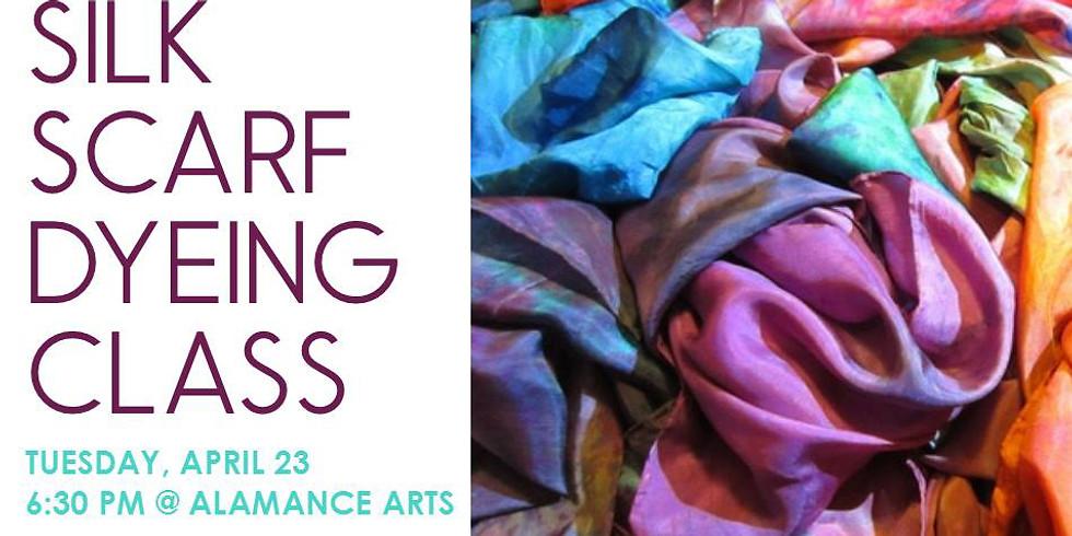 Silk Scarf Dyeing Class