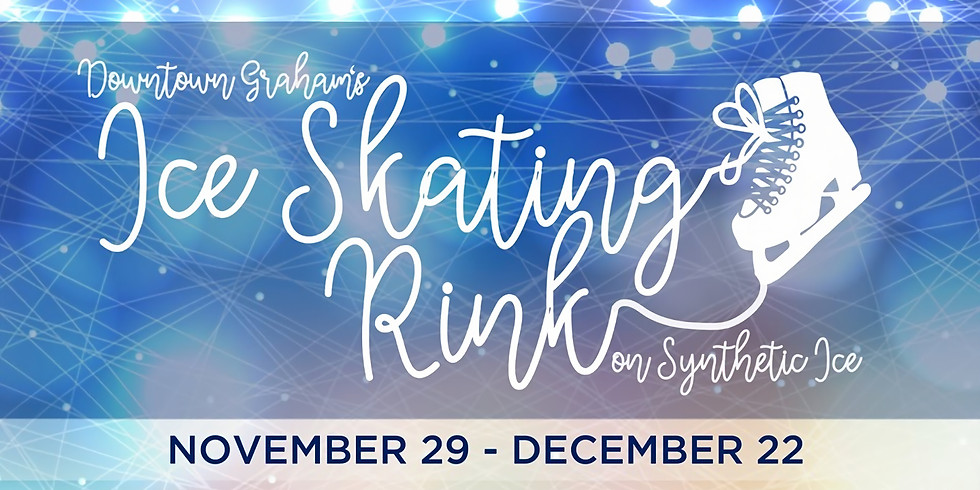 Downtown Graham's Ice Skating Rink - Opening Day