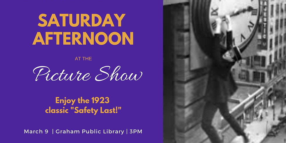 Saturday Afternoon at the Picture Show