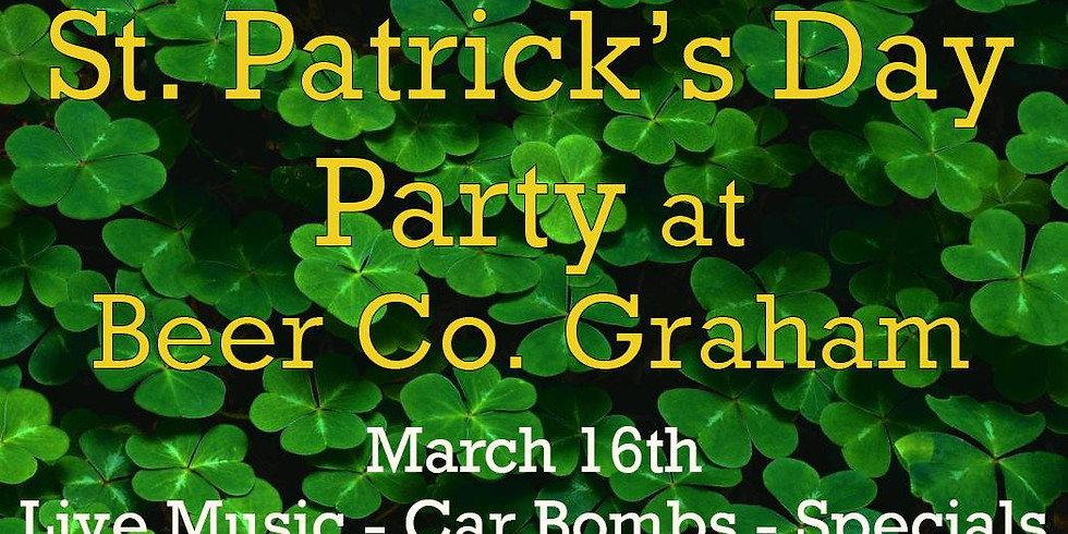 St. Patrick's Day Party at Beer Co.