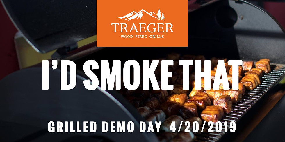 """Traeger """"I'd Smoke That"""" Demo Day"""