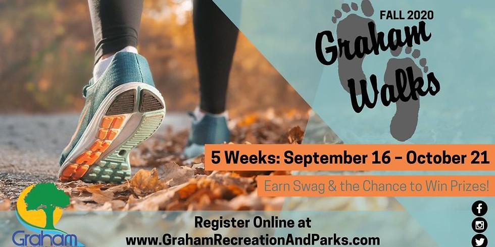 Graham Walks Fall 2020 Kicks Off