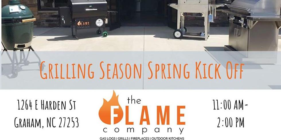 Grilling Season Spring Kick Off